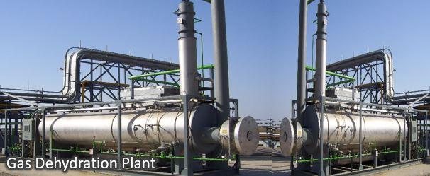gas dehydration plant