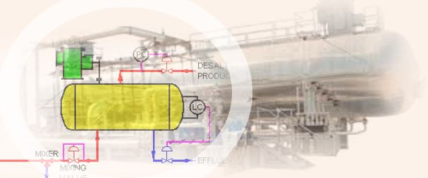 desalter crude oil desalting unit