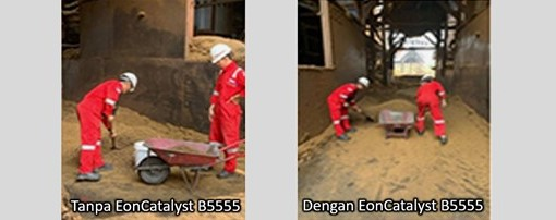98d sisa cangkang kelapa sawit