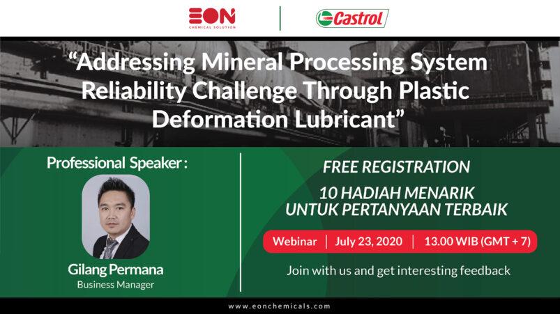 mineral processing deformation